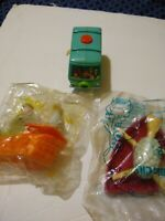 Rare SHEEP IN THE BIG CITY Toys! Happy Meal Toy -Subway subs & Cartoon Network