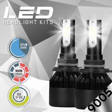 NEW 9005 HB3 6000K White 8000LM CREE LED Headlight Bulbs Kit High Low Beam