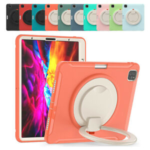 """For iPad Pro 11 3rd 2nd 2021 2020 / Air 4 10.9"""" Ring Bracket Cover With Pen Case"""