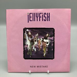 "*RARE* JELLYFISH - New Mistake Virgin CUSS 11 7"" Single Vinyl 1993 *MINT VINYL*"