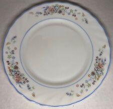 Lot99 Desde 6 Pequeñas Platos Planas Vintage Arcopal Francia De 19,8cm Flores