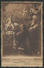 St Anthony by Elisabetta Sirani 1910 Divided Back PC Collotype by Modiano UNUSED