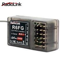 RadioLink R6FG 6Ch 2.4GHz Gyro RC Receiver FHSS Suit TX RC6GS RC4GS RC3S T8FB