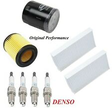Tune Up Kit Air Cabin Oil Filters Spark Plug For HONDA ELEMENT L4 2.4L 2003-2006