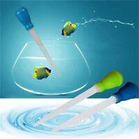 l'eau fish tank siphonner pompe introduire à la pipette aquarium outil propre