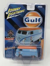 IN STOCK Johnny Lightning Volkswagen GULF Type 2 Transporter MGMINIS Exclusive