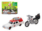 Hot wheels DRW73 1 by 64 Diecast Ghostbusters 3 Movie Cadillac & Bike Scale Diec