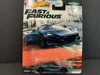 Hot Wheels McLaren 720S Fast and Furious GBW75-956K 1/64