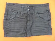 G STAR RAW Jupe Taille 26 US - Modèle Jaxon Mini Skirt -  noire