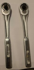 TWO  CRAFTSMAN 1/2 in Drive Quick Release Ratchets  (USA)   UNUSED