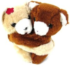 Alyssa Ashley Hugging Bears Brown & Tan Bears from Vintage Perfume Promo