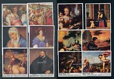 [104130] Bhutan 1989 Art paintings Titian Compl. Set 12 souvenir sheets MNH