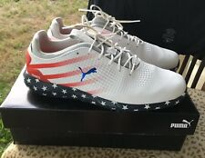 Puma Patriot Golf Shoes Limited Edition 11 US Open Gary Woodland USA Stars