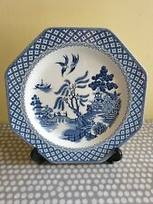 Vintage J & G Meakin. Royal Staffordshire Willow Ironstone Octagonal Plate