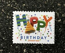 2021USA #???? Forever Happy Birthday - Single Stamp  mint
