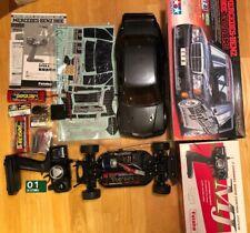 Vintage TAMIYA 1/10 58327 MERCEDES BENZ 190E EVO.2 AMG TT-01 kit W/Futaba MJ