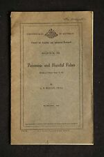 C P Whitley - Poisonous and Harmful Fishes commonwealth publication from 1943
