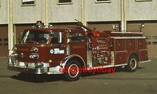 Fire Apparatus Slide, Engine 13, Pratt & Whitney / CT, 1976 American LaFrance