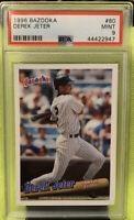1996 Bazooka Derek Jeter 80 Rc Psa 9 Yankees