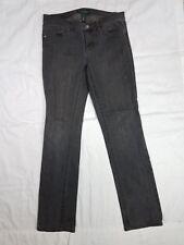 Womens LAUREN JEANS CO. Size 6 Black Denim Jeans Ralph Lauren