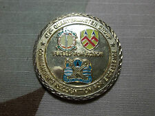 U.S. ARMY 475th Quartermaster Group FUELED FOR ACTION 11/04-11/07 Challenge Coin