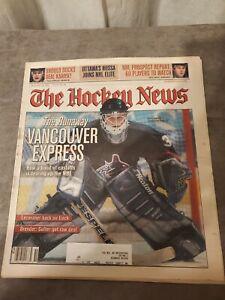 The Hockey News December 20 2002 Vol. 56 No. 16 - Dan Cloutier Cover