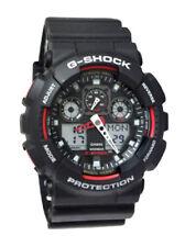 Casio GA100-1A4 G-Shock X-Large Red Black Ana/Digi  Men Watch NEW
