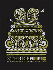 THRICE CONCERT GIG POSTER 2008 - NEW