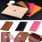 For iPad 2 3 4/Air 2 /Mini /Pro 9.7 Luxury Leather Wallet Smart Stand Case Cover