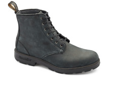 BLUNDSTONE 1451 LEATHER SUEDE LACE UP BOOTS, NON SAFETY SIZE 7