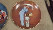 norman rockwell collector plates,
