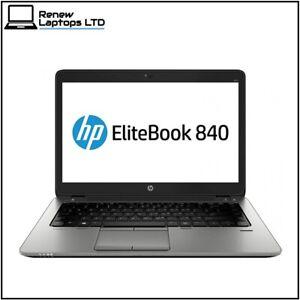"""FAST HP ProBook 840 G2 14"""" laptop i5-5200u 2.2Ghz, 8Gb RAM, 240Gb SSD, Win 10"""