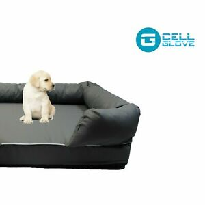 Orthopedic Pet Bed Lounge in Solid Memory Foam Comfortable and Sturdy Comfort