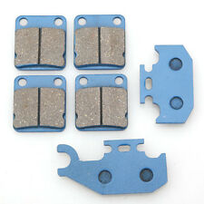 Front Rear Brake Pads For Yamaha Kodiak YFM 400