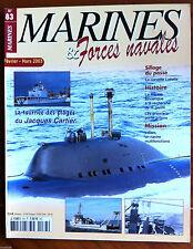 Marines & Forces navales n°83; La marine sovètique/ les premiers porte avions