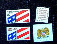 Scott# 2431, 2475, 2521 & 2522 - 1891-91 Regular Issues MNH