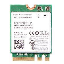 Intel Dual Band Wireless-AC 8260 867Mbps 2.4/5GHz WiFi+BT 4.2 NGFF Wireless Card