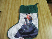 Vintage Holiday Barbie Christmas Stocking,1995,Excellent!