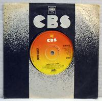 "David Essex - Hold me close 1975 7"" vinyl 45 RPM single record CBS 3572"