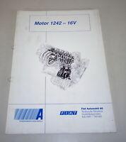 Schulungsunterlage Fiat Motor 1242 - 16 V By 07/1997