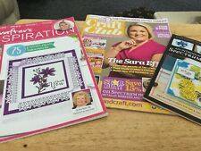 Crafters Companion Inspiration/Technique Tutorial Books Stamp's & Foiling Stamps