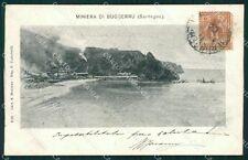 Cagliari Miniera di Buggerru cartolina XB3349