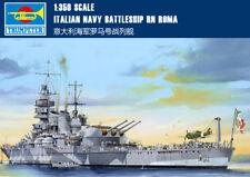 ITALIAN NAVY BATTLESHIP RN ROMA 1/350 ship Trumpeter model kit 05318