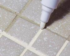 TILE WHITE GROUT PEN WHITENER RESTORER REVIVER KITCHEN BATHROOM TILING GROUTING