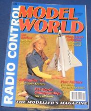 RADIO CONTROL MODEL WORLD MAGAZINE NOVEMBER 1992 - THE LION HELICAT ON REVIEW
