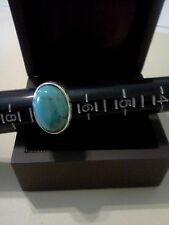 Vintage 825 Silver/Turquoise Rng