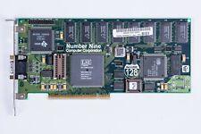 Number Nine #9 Imagine 128 | 4Mb PCI VGA Graphics Video Card - Working (sort of)