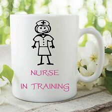 Nurse In Training Mug Cup Student Coffee Tea Gift Kitchen Accessories WSDMUG239