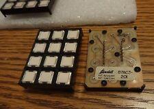 Grayhill 87AC3-201, SERIES 87, 3X4 keypad switch