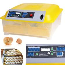 Automatic Digital Clear 48 Egg Incubator Hatcher Egg Turning Temperature in50